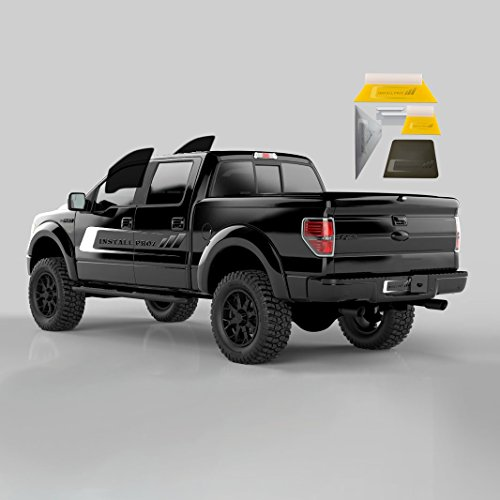Tint Kits (Computer Cut) for All Four Door Trucks (Front Windows with Tool Kit)