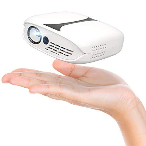 Proyector portátil Mini, Proyector DLP HD/Cine en casa/Mini Proyectores LED, Proyector de Bolsillo de Video 3D Admite 1080p HDMI USB(Size:AU)