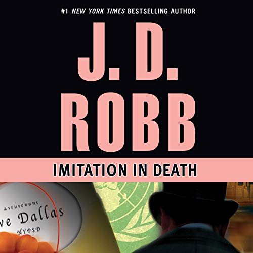 Imitation in Death audiobook cover art