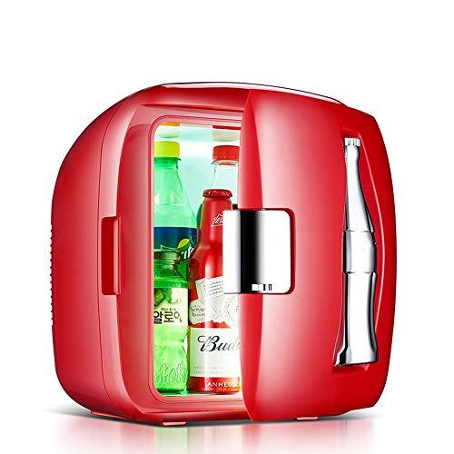 NYGJMNBX 9L Creative Car koelkast Muto Mini Frigo familie verwarming box draagbare koeler wijnkoeler geschikt voor auto Residual outdoor reizen camping Red