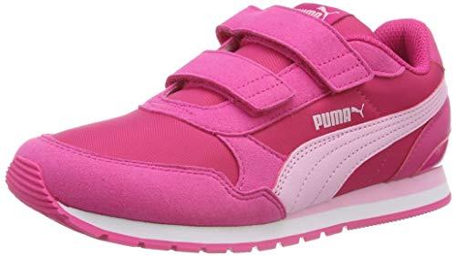 Puma Unisex-Kinder St Runner V2 Nl V Ps Sneaker, Pink (Fuchsia Purple-Pale Pink-Puma White), 35 EU