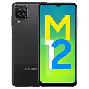 Samsung Galaxy M12 (Black,4GB RAM, 64GB Storage) 6000 mAh with 8nm Processor | True 48 MP Quad Camera | 90Hz Refresh…