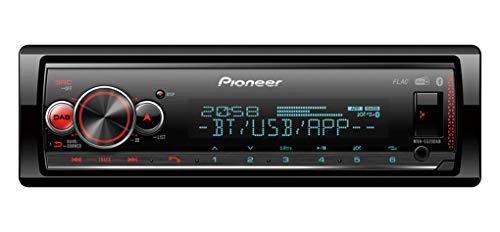 Pioneer MVH-S520DAB, 1DIN Autoradio mit RDS und DAB+, RGB-Beleuchtung, deutsche Menüführung, Bluetooth, USB, iPod/iPhone-Direktsteuerung, Freisprecheinrichtung, Smart Sync