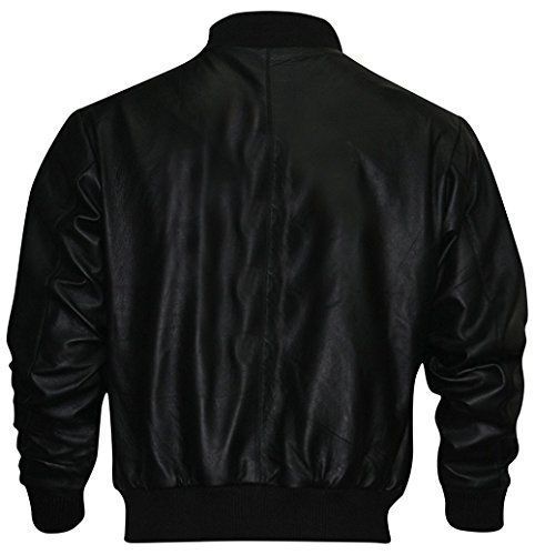 Rocky Balboa Black Tiger Lederjacke zum Verkauf Gr. M, Schwarz