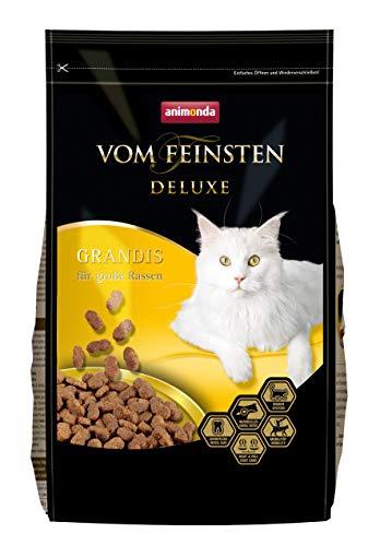 animonda Vom Feinsten Deluxe Adult Katzenfutter, Trockenfutter für große Katzen, aus Geflügel, 1,75 kg