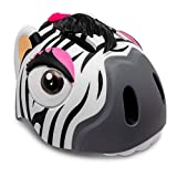 Crazy Safety Casco de Bici para niños | Casco de Bici para niños y niñas pequeños, niños y niñas patinetes eléctricos, triciclos, Skateboarding y bicis | Casco Ciclismo Animales niño