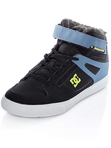 DC Shoes Pure WNT - Botines Altos de Invierno con Cordones Elásticos - Niños