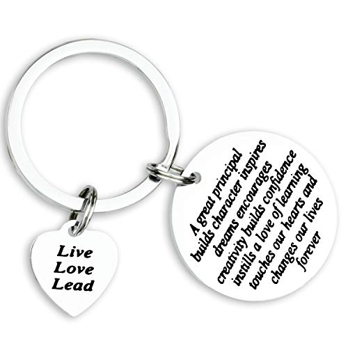 Kivosliviz Principal Gift Principal Jewelry Gifts for a Principal School Principal Keychain