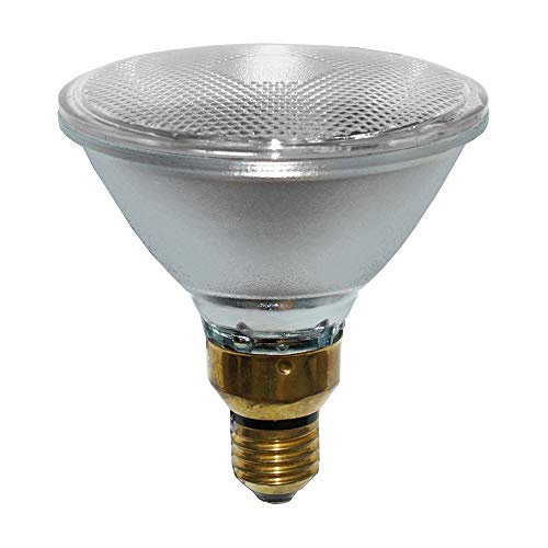 Halogen Pressglas Reflektor PAR38 80W E27 220-240V warmweiß 2700K dimmbar flood 30° (80 Watt)