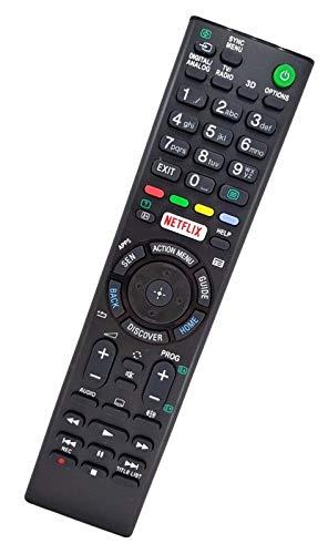 Ersatz Fernbedienung passend für Sony TV KDL-55W756C | KDL-55W805C | KDL-55W807C | KDL-65W855C | KDL-65W857C | KDL-65W858C | KDL-65W859C | KDL-75W855C