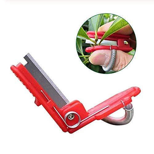 NOBGP Professionelles Gemüseabscheider-Garten-Daumenmesser, Werkzeug zum Pflücken von Gemüsefrüchten, zum Ernten von Pflanzensammeln Trim Garden Gemüsegarten
