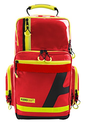 Notfallrucksack AEROcase® - Pro1R PL1C AEROtex ® - Plane, rot