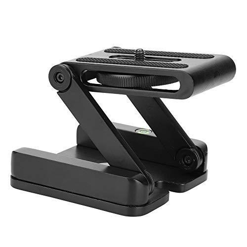 Jadpes Quick Desktop Statief Relese Plate, Zwarte Z Tilt Vouwen Snelle release Plaat Stand Mount Voor Statief Camera CO Gemakkelijk Schakelen In Verticale Modus