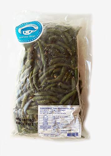 冷凍食品 Frozen 緑唐辛子(ホール) 500g  速冻绿辣椒 青辣椒 青尖椒 green chilli Frozen food ※写真はイメージです。