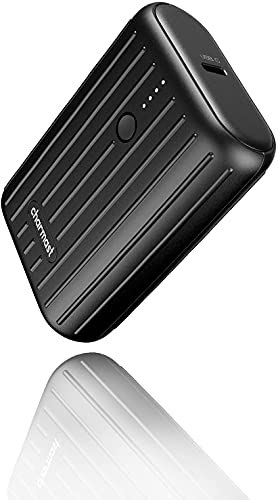 Charmast モバイルバッテリー 10000mAh 大容量 小型 ミニ 18W PSE認証 QC3.0 Type-C 軽量 2台同時充電可能 急速充電 携帯充電器 各種機種対応 持ち運び便利 出張/地震/災害/アウトドアなどの必携品