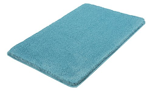 Price comparison product image Kleine Wolke Relax Bath rug,  Turquoise,  60 x 100 cm