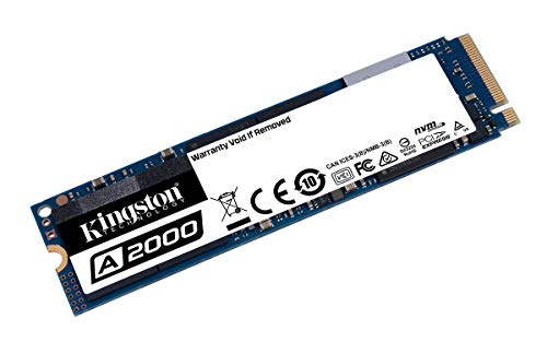 Kingston A2000 (SA2000M8/500G) SSD NVMe PCIe M.2 2280  500...