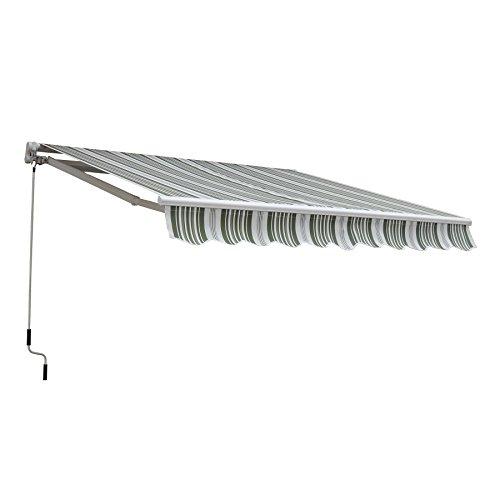 CO-Z Manual Patio Shade Retractable Deck Awning Sun Shade...