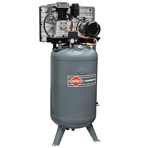 Airpress® Druckluft-Kompressor 5,5 PS 4 kW 11 bar 270 Liter Kessel Werkstatt Luftdruck-Kompressor 400 V VK 700-270 Pro