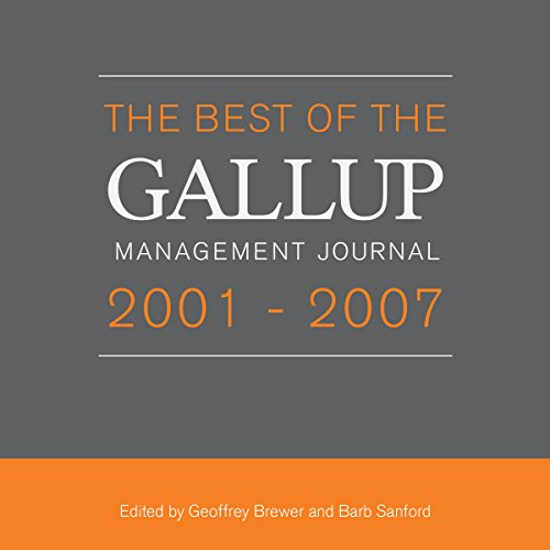 The Best of the Gallup Management Journal 2001-2007 audiobook cover art