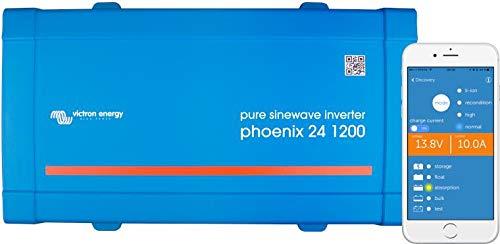 Inversor Onda Pura 24V 1200VA Victron Energy Phoenix 24/1200 VE.Direct Schuko | Instalaciones Solares