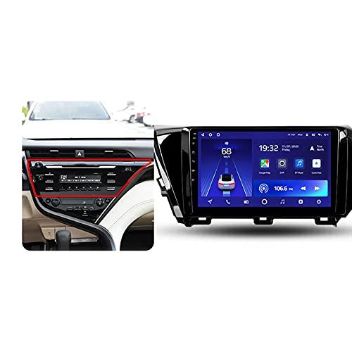 Android 10 10.2'' Car Multimedia 5G Wifi Bluetooth Car Radio Para Toyota Camry 8 2017-2020,Con Enlace Espejo/GPS/Mandos De Volante/Cámara Trasera/3D Dinámica De Conducción En Tiempo Real,A,3+32G
