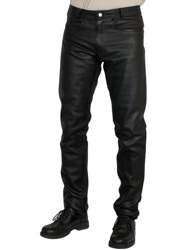 Roleff Pantalón de Cuero Racewear, Negro, 50