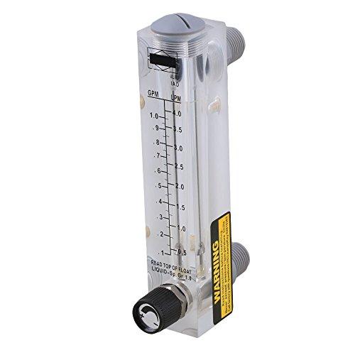 ABS Kunststoff Platte Typ verstellbar Flüssigkeit Flowmeter Wasser Durchflussmesser Messung werkzeug, mehrfarbig