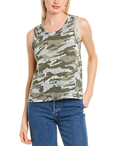 CHASER Womens Muscle Tank, Xs, Green