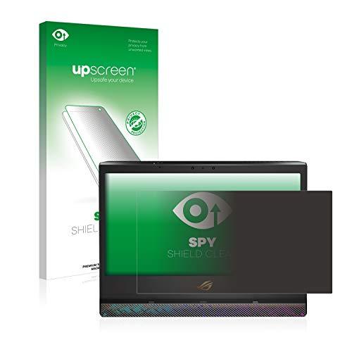 upscreen Anti-Spy Blickschutzfolie kompatibel mit Asus ROG Mothership Privacy Screen Sichtschutz Bildschirmschutz-Folie