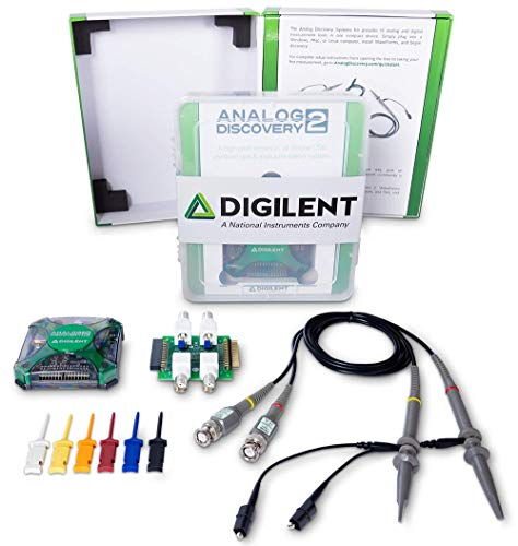 Analog Discovery Systems Kit: USB Oscilloscope & Logic Analyzer