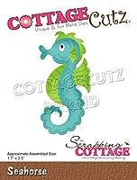 """CottageCutz Dies-Seahorse 1.7""""X3.3"""""""