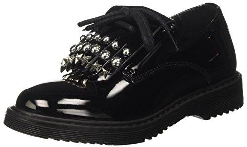 Cult Cult CLJ101757, Mädchen Niedrige Sneaker, Schwarz - Schwarz (Black 999) - Größe: 34 EU