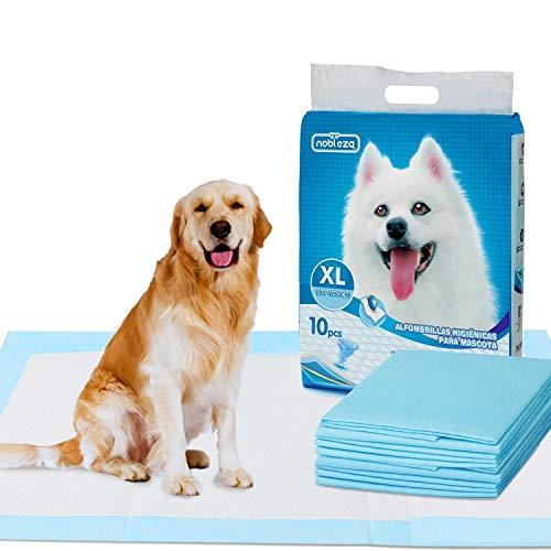 Nobleza - Tappetini igienici per Cani, Misure 90 * 80cm, Tappetini assorbenti per Animali Domestici, 10 pz