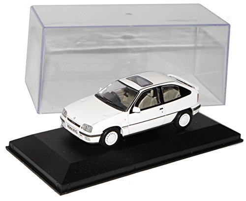 Vanguards Opel Kadett E GTE 16V 3 Türer Weiss Version England Rechtslenker 1984-1993 1/43 Modell Auto mit individiuellem Wunschkennzeichen