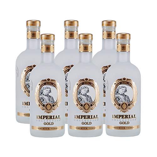 Ladoga Imperial Gold Vodka (6 x 0,7 L)
