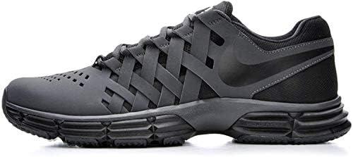 Nike Men s Lunar Fingertrap Cross Trainer Anthracite Black 8 5 Regular US product image