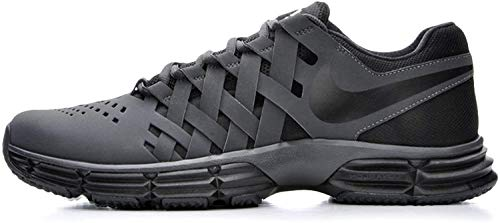 Nike Men's Lunar Fingertrap Cross Trainer, Anthracite/Black,...