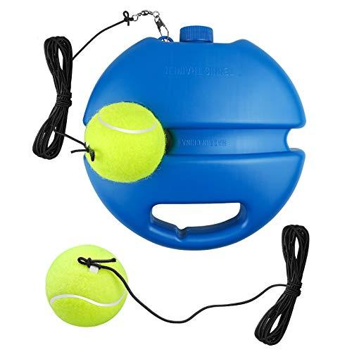 Yue Istruttore di Tennis, Allenatore di Tennis, Strumento per Allenatore da Tennis Power Base Tennis Rebound Self-Study con Palla da Tennis per Principianti Adulti e Bambini