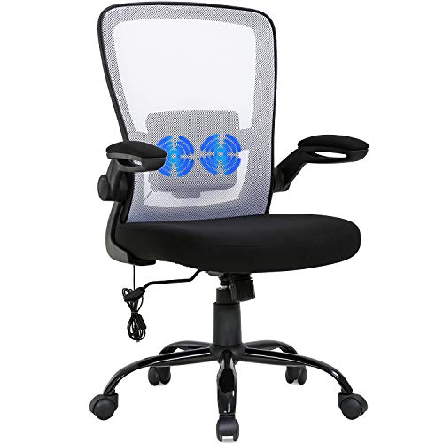 Multi-Colored Suitable Durable Comfortable Massage Office Chair Ergonomic Fancy Desk Mesh Computer Swivel Rolling Executive Task Chair Lumbar Support Arms Adjustable Chair (1)
