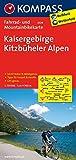 Kaisergebirge - Kitzbüheler Alpen: Fahrrad- und Mountainbikekarte. GPS-genau. 1:70000 (KOMPASS-Fahrradkarten International, Band 3304)