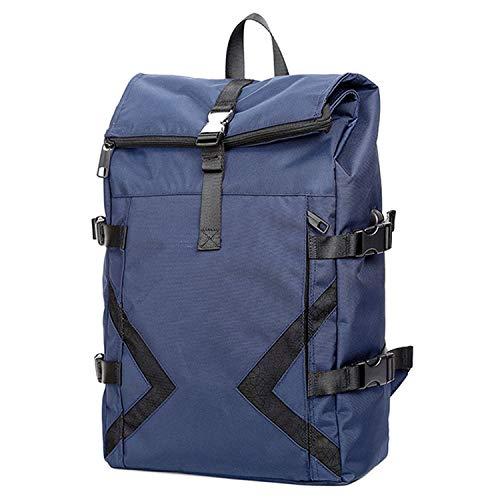 Outdoor-vrijetijdsrugzak voor heren, business-anti-diefstal rugzak met grote capaciteit geschikt voor 15-inch rugzak met laptopvak blauw/grijs/zwart rugzak