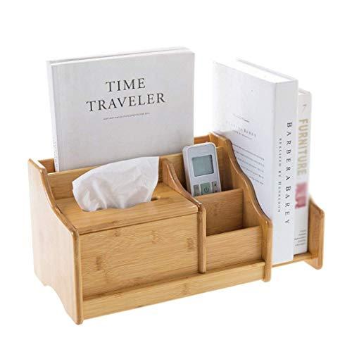 YIXIN2013SHOP Estantería libreria Bambú Dispositivo de Almacenamiento de Box Office estantería turística Caja de pañuelos de papelería de Almacenamiento en Rack Estante de Libro Oficina Estanteria