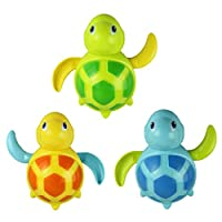 Lookatool? New born babies swim turtle wound-up chain small animal bath toy classic toys by Lookatool