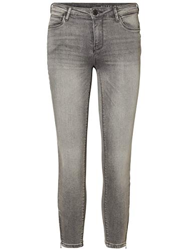 Noisy may Female Skinny Fit Jeans NMKIMMY Cropped Normal Waist 2930Light Grey Denim
