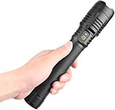 SZMYLED LED-zaklamp, werklamp, zaklamp voor wandelen, fietsen, camping, werkplaats, werkbank, automatische reparatie, nood...