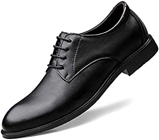 Formal Business Shoes for Men Casual British Style Leather Non-Slip Soft Bottom Breathable Pointed Shoes
