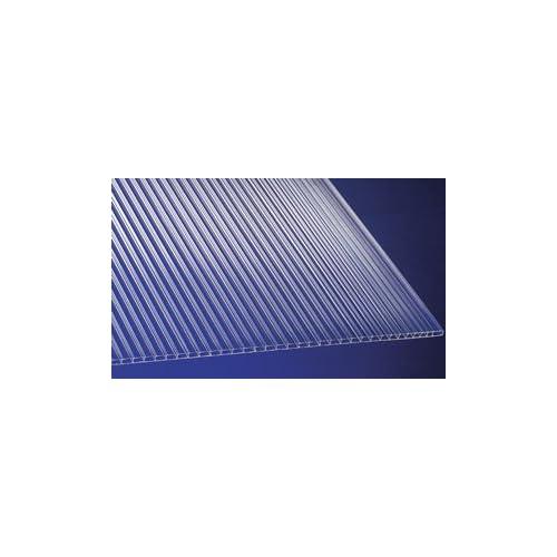Polycarbonat Universal Stegplatten f/ür Gew/ächsh/äuser klar 1500 x 700 x 4,5 mm