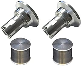Torque Solution Tial Blow Off Valve Adapter w/ Plugs Fits Bmw 135 335i 535i X5 n54 ONLY