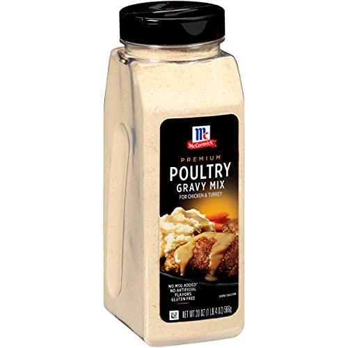 McCormick Premium Poultry Gravy Mix, 20 oz